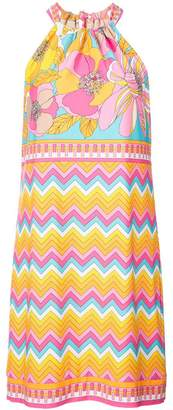 Trina Turk norder printed halter dress