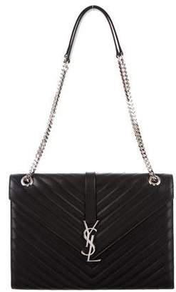 Saint Laurent Large Monogram Envelope Chain Bag