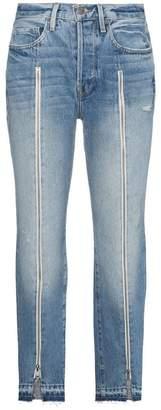 Frame Le Original Zip Front Jeans