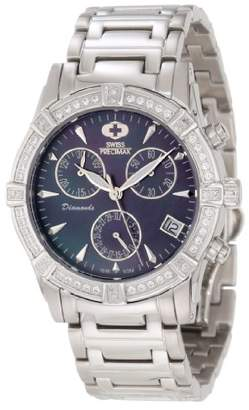 Mother of Pearl Swiss Precimax Women's SP12079 Desire Elite Diamond Mother-Of-Pearl Dial Watch