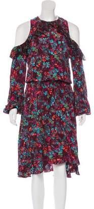 Preen Line Midi Print Dress