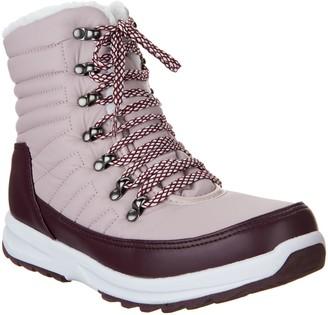 Khombu Waterproof Lace-up Ankle Boots - Alegra