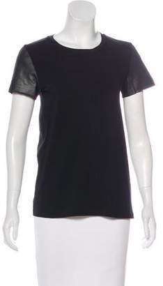 Theory Cotton Short Sleeve T-Shirt