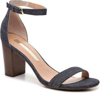 Women's Nadine Sandal -Black Leather $80 thestylecure.com