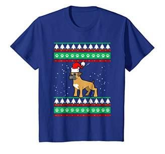 Boxer Dog Ugly Christmas T Shirt For Dog Lover