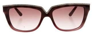 Valentino Embellished Tortoiseshell Sunglasses