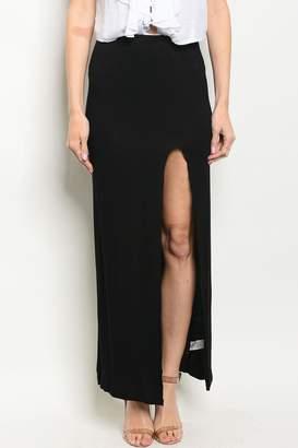 Love In Black Maxi Skirt