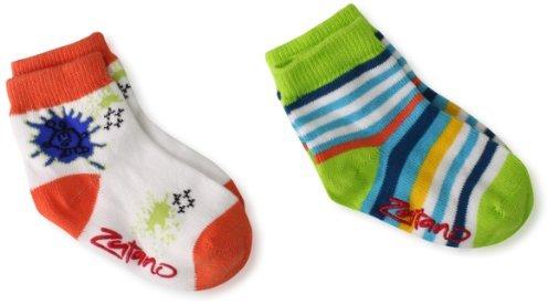 Zutano Baby-Boys Infant Two Pack Anklet Socks
