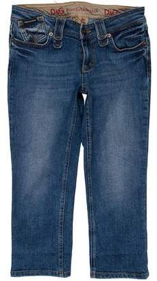 Dolce & Gabbana Low-Rise Cropped Jeans