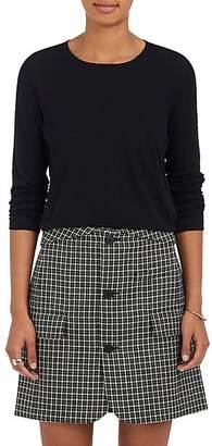Proenza Schouler Women's Cotton Slub Jersey T-Shirt - Black