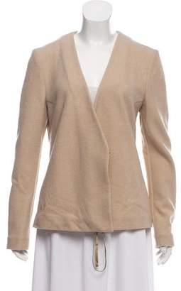 Maison Margiela Wool Long Sleeve Cardigan