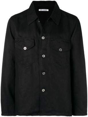 Our Legacy front pockets oversized shirt