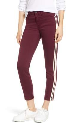 SP Black Side Stripe Skinny Jeans