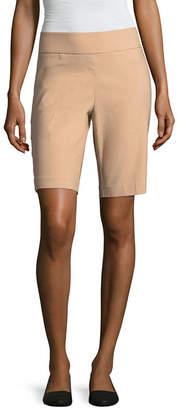 Liz Claiborne 10 Classic Fit Woven Bermuda Shorts
