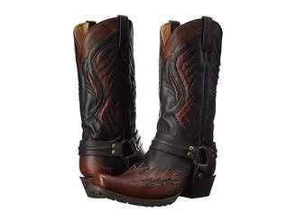 Stetson Biker Outlaw Cowboy Boots