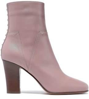 Valentino Garavani Lovestud Leather Ankle Boots