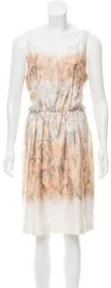 Proenza Schouler Printed Shift Dress