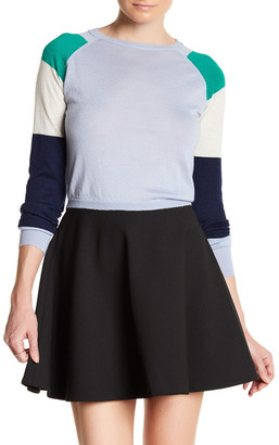 Cynthia Rowley Cashmere Colorblock Cropped Sweater $325 thestylecure.com