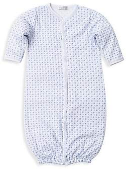 Kissy Kissy Baby Boy's Pima Cotton Star-Print Convertible Gown