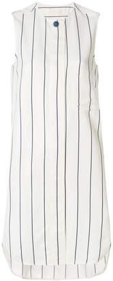 Jacob Cohen pinstripe long line blouse