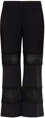 Alexander McQueen Macrame Panelled Pants