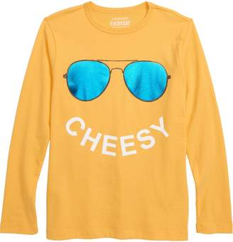 J.Crew crewcuts by Cheesy Long Sleeve T-Shirt