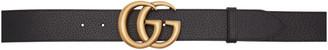 Gucci Black GG Belt