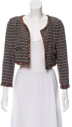 Chanel Stripe Cropped Jacket