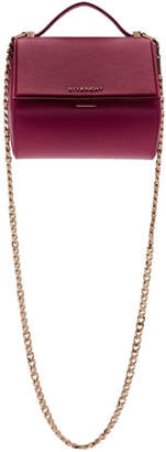 Givenchy Pink Mini Pandora Box Chain Bag