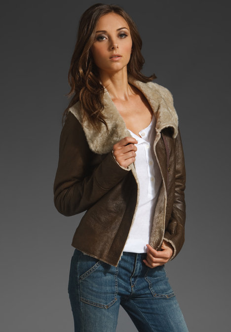 DOMA Shearling Lined Jacket