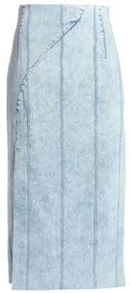 ADAM by Adam Lippes Denim Midi Skirt