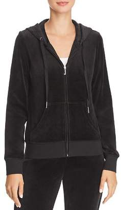 Juicy Couture Black Label Gothic-Logo Zip Hoodie
