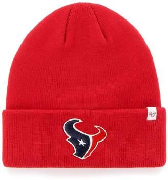 '47 NFL Houston Texans Raised-Cuff Beanie