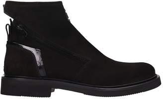 Bruno Bordese Black Suede Boots