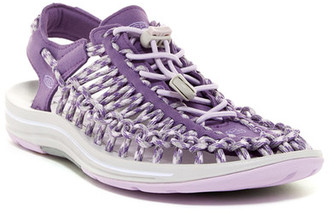 Keen Uneek 3C Woven Cord Sandal $100 thestylecure.com