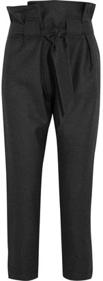 Vivienne Westwood Anglomania - Kung Fu Tapered Wool Pants - Dark gray