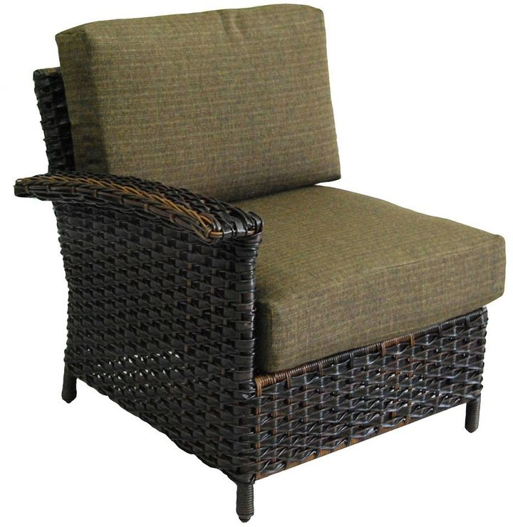 SONOMA Goods for LifeTM Mendicino Wicker Right Arm Lounge Chair & Cushions