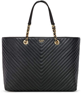 Victoria's Secret Victorias Secret Pebbled V-Quilt Everything Tote