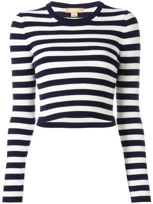 Michael Kors striped jumper $377.84 thestylecure.com