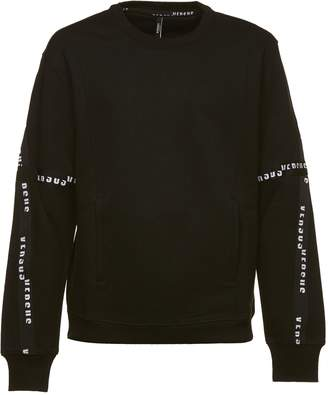 Versace Branded Bands Sweater
