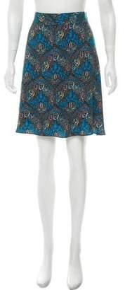 Alice + Olivia Printed Knee-Length Skirt