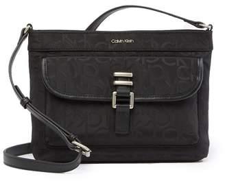 Calvin Klein Nylon Buckle Messenger Bag