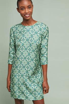 Nieves Lavi Ines Silk Tunic Dress