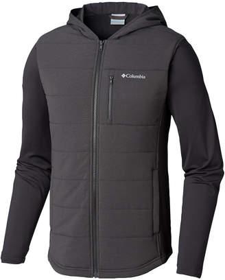 Columbia Men's Shark Pilsner Peak Colorblocked Hooded Hybrid Jacket