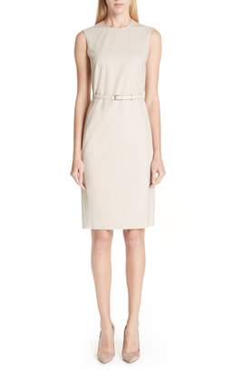 Max Mara Petra Stretch Wool Dress