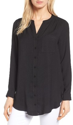 Women's Pleione Mixed Media Top $59 thestylecure.com