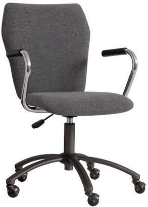 Pottery Barn Teen Charcoal Tweed Airgo Arm Chair