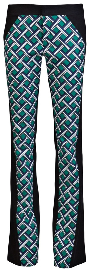 Derek Lam 10 Crosby By Seamed Fitted Pant