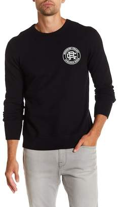 Reigning Champ Logo Crew Neck Long Sleeve Tee