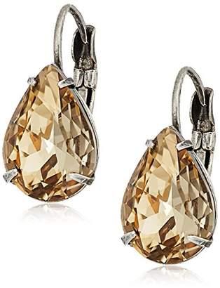 Sorrelli Mirage Pear Crystal Drop Earrings
